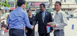 The Visit of Mae Fah Laung to University of Puthisasta