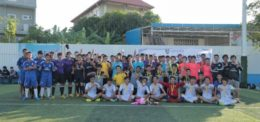 UP's 2014 Futsal Opening Ceremony and Medal Handing for 2013 Winners