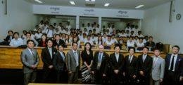 UP Celebrated New Partnership with Japanese Dentists