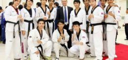 UP Taekwondo Club participated Phnom Penh Taekwondo Association Championship 2014