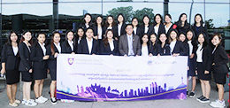 Dean of Faculty of Pharmacy, Led 29 Pharmaceutical Students to Attend the 9th Asian Association of Schools of Pharmacy Conference (AASP)