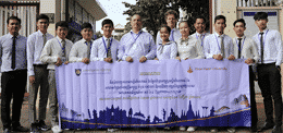 University of Puthisastra has carried out an Orientation Session for Eight Medical Laboratory Technology students who is going to have four-weeks training at Khon Kaen University