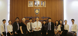 University of Puthisastra (UP) warmly welcomed the delegates from China Pharmaceutical University (CPU)