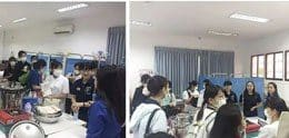 JAPANESE NURSING STUDENT'S VISIT UP NURSING STUDENTS