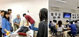 """ADVANCED CARDIAC LIFE SUPPORT"" TRAINING FOR MD STUDENTS AT UP"