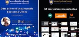 All ICT Courses are online