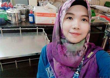 Mosa Kafy, Associate Degree in Midwifery, Year 3.
