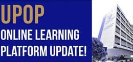 UPOP Online Learning Platform Update