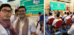 UP STUDENTS VOLUNTEER TO FIGHT COVID-19 IN CAMBODIA