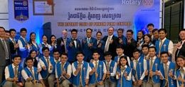 30 UP STAFF AND STUDENTS ATTEND BIG ROTARY EVENT AT DARA AIRPORT HOTEL