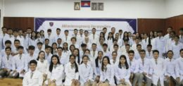 White coat ceremony for Medicine students and Laboratory Science Students