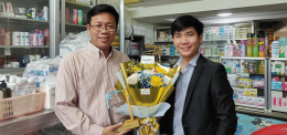 Dr Chea Sin, UP's Dean of Pharmacy is 2020 Global Pharmacy Champion