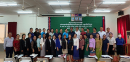 UP Joins National Committee Group To Update Cambodian Midwifery Curriculum