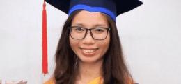 Dr. Kong Srey Nuch, Faculty of Medicine Officer & UP MD Program Graduate