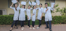 MD Year 7 Students Have Completed A Five Month Internship At Angkor Hospital For Children In Siem Reap