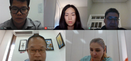 Online Meeting with Johns Hopkins University School of Medicine, Baltimore and The Prestige Hospital, Phnom Penh