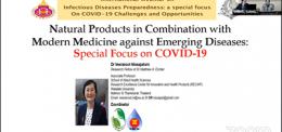 UP Pharmacy Faculties Joined International Webinar