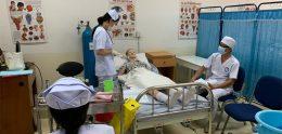 Nursing Students get ready for Graduation Exam