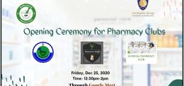 Pharmacy Club Opening Ceremony