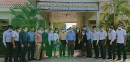 UP- Nursing Department Involve in National Curriculum Revise at Kampot RTC