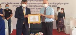 UP A KEY PARTNER IN NEW DEMONSTRATION HEALTH PROJECT AT CHAKTAMOK SCHOOL