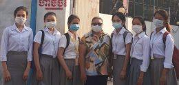 Midwifery students go for clerkship at Cambodia-Chines friendship Presh Kosamak Hospital.