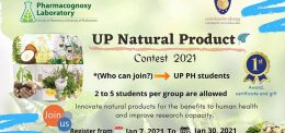 UP LAUNCHES A NATURAL PRODUCT CONTEST 2021
