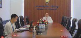 Virtual Signing Ceremony of MOU between UP and Politeknik Medica Farma Husada Mataram